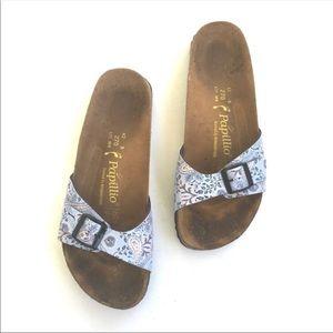 Birkenstock Madrid paisley slide sandal